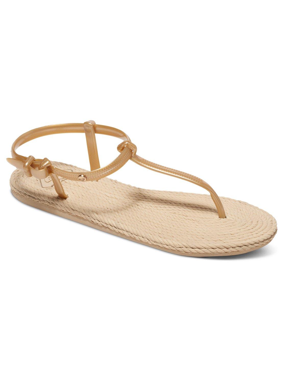 0 South Beach T Strap Sandals Arjl100554 Roxy