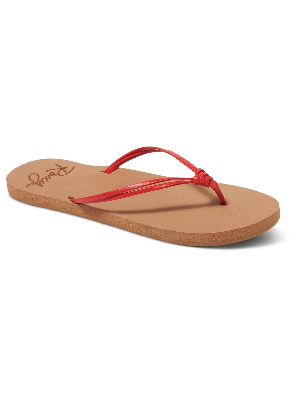 27ca6d87edeab 0 Lahaina Sandals Red ARJL100570 Roxy