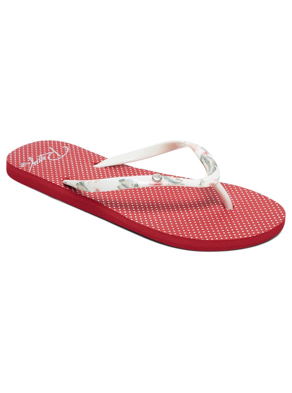 085fab6d8456f 0 Portofino - Flip-Flops for Women Red ARJL100668 Roxy