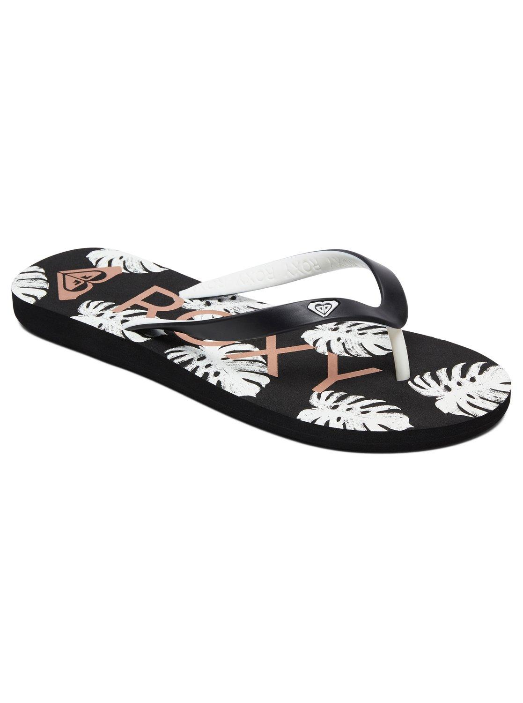 91ddc8ef793f9 0 Tahiti Flip-Flops Black ARJL100669 Roxy