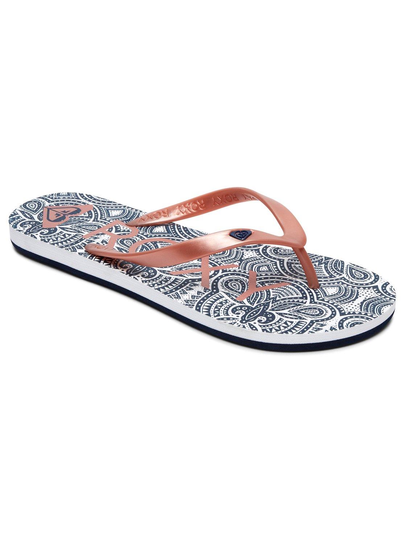 8cf5d379faa74 0 Tahiti Vi - Flip-Flops for Women Orange ARJL100669 Roxy