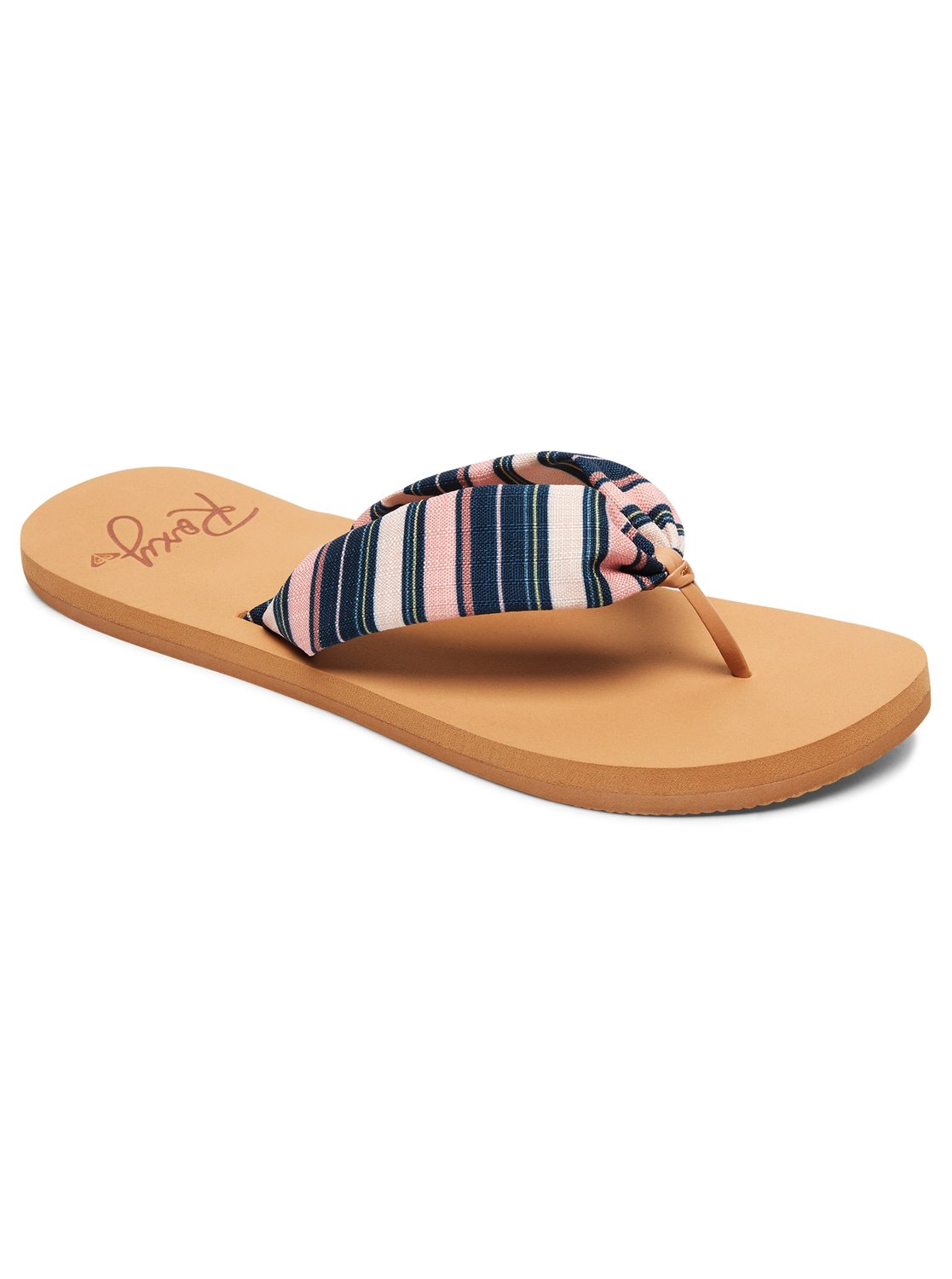 Paia Sandals Arjl100674 Roxy Tendencies Footbed 2 Strap Brown 42 0 Blue