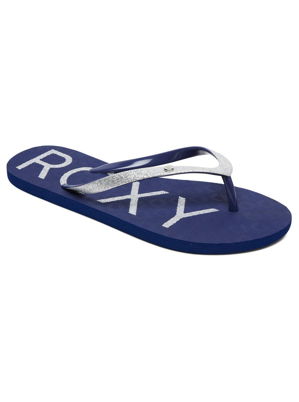 8b92cfeeb68ea4 0 Viva Glitter - Flip-Flops Blue ARJL100678 Roxy