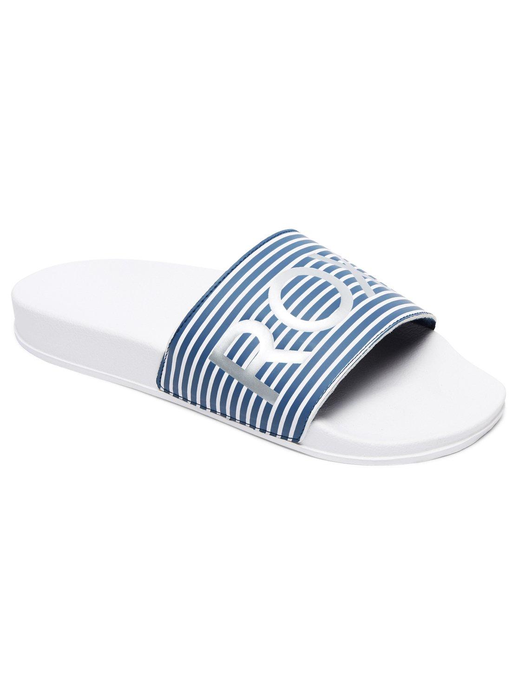 98b30b47bb5e87 0 Slippy Sliders Blue ARJL100679 Roxy