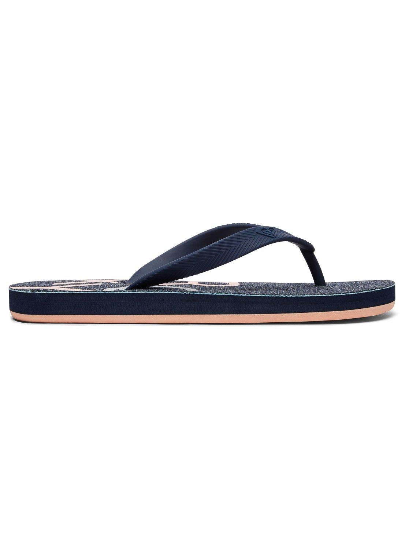 Mujer Zapatos Para Chanclas Playa Roxy Arjl100691 PXkuOiZ