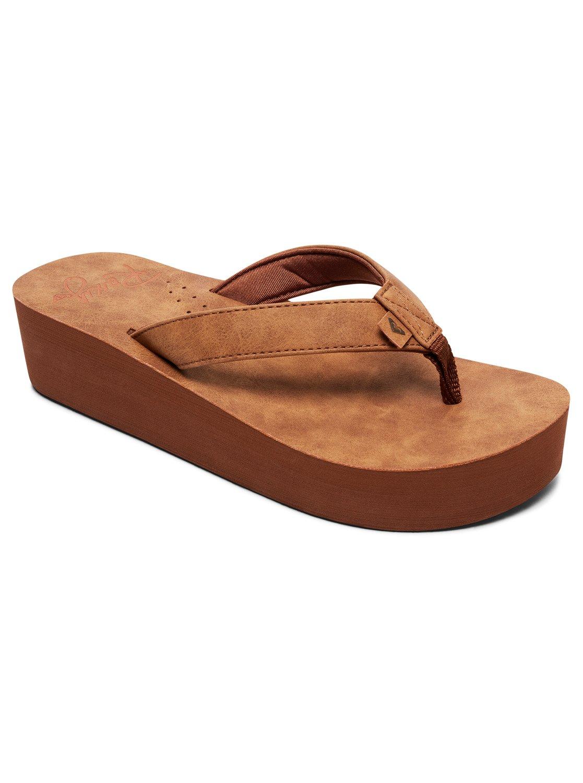 6ad5bce1671b Image is loading Roxy-Melinda-Platform-Sandals-for-Women-ARJL100774