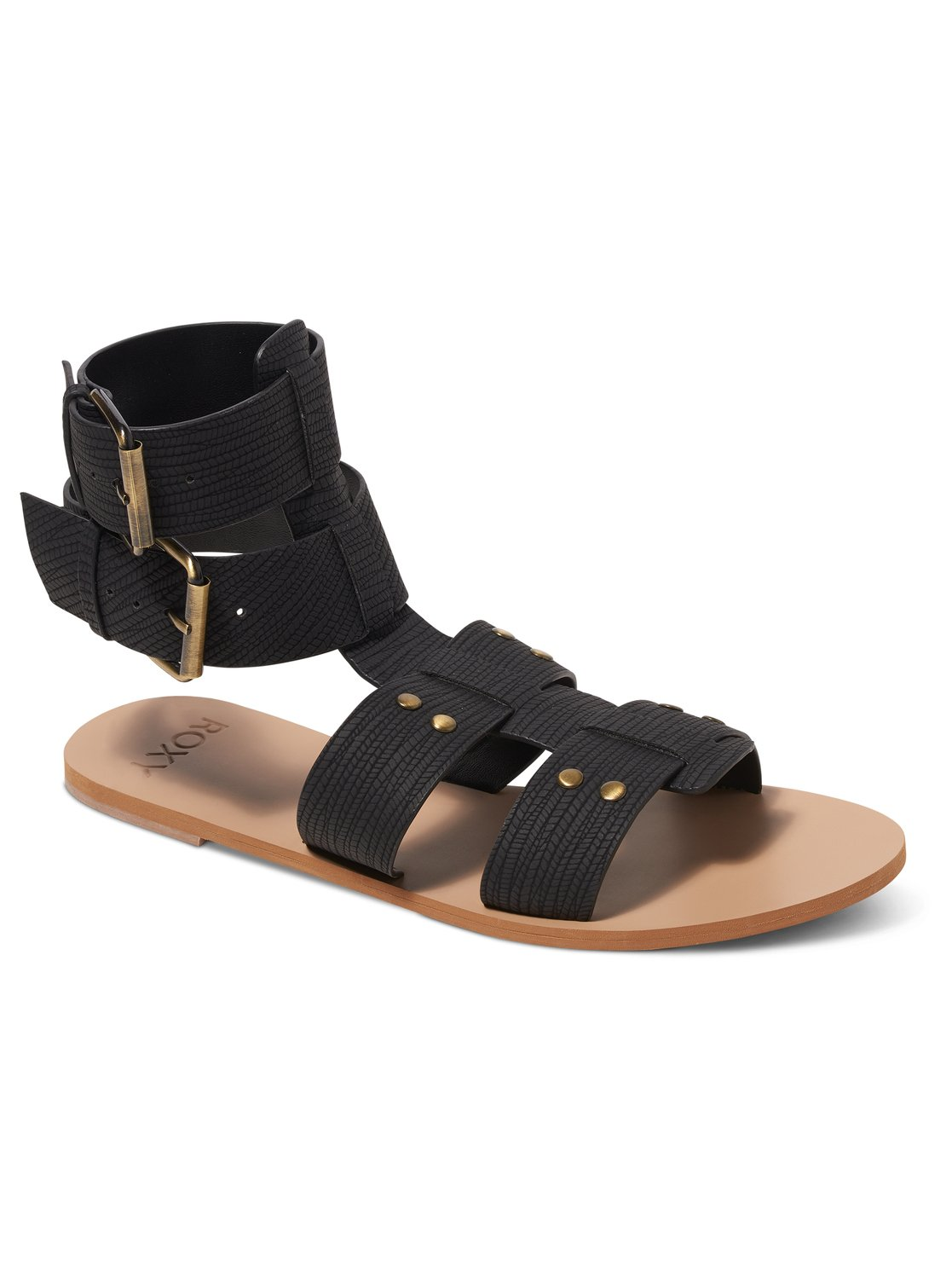 Tyler Sandals Arjl200530 Roxy Tendencies Footbed 2 Strap Brown 41 0