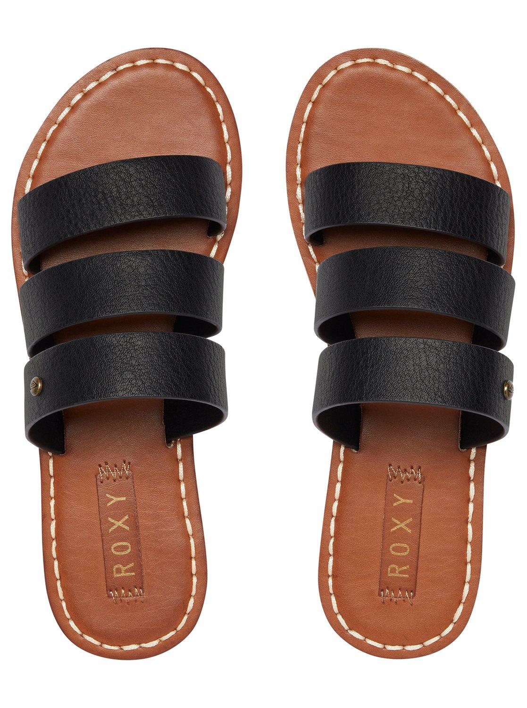 Sonia Three Strap Sandals Arjl200614 Roxy Tendencies Footbed 2 Brown 42
