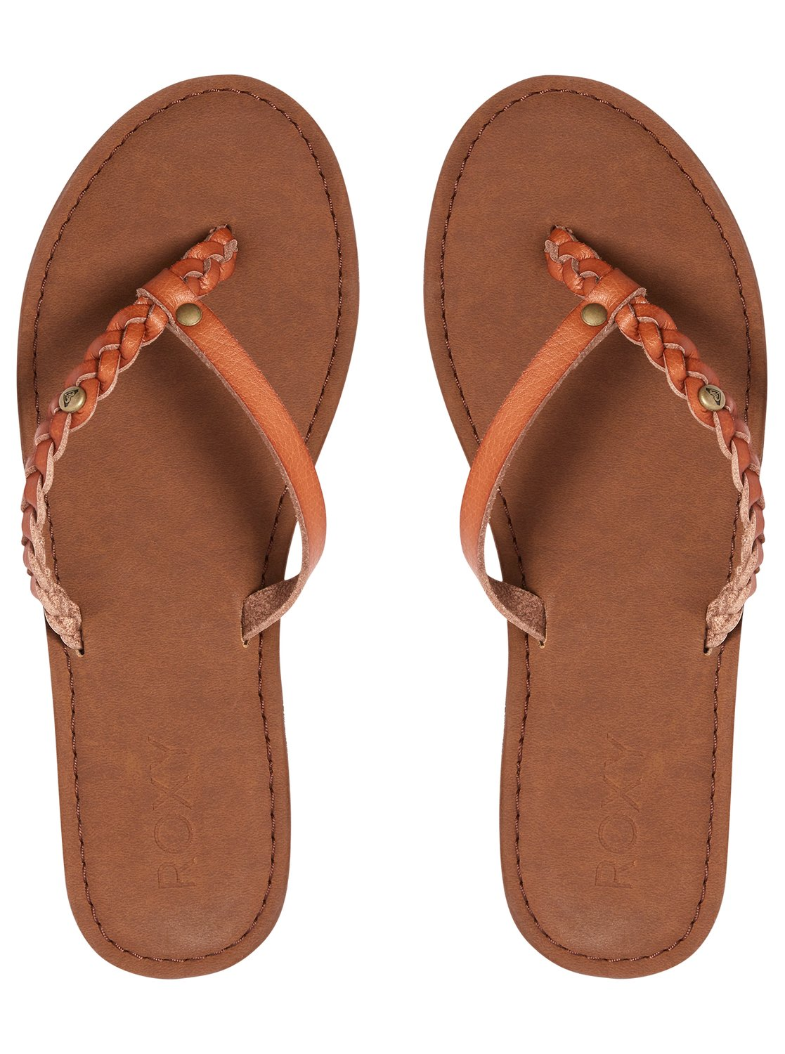 90bdb19288f56 2 Livia - Sandals for Women Brown ARJL200619 Roxy