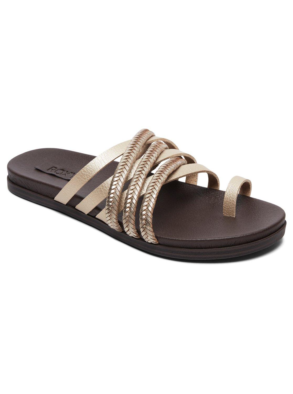0ed6b141eacb89 Esme multi strap leather sandal yellow arjl roxy jpg 1117x1500 Roxy womens  slippers