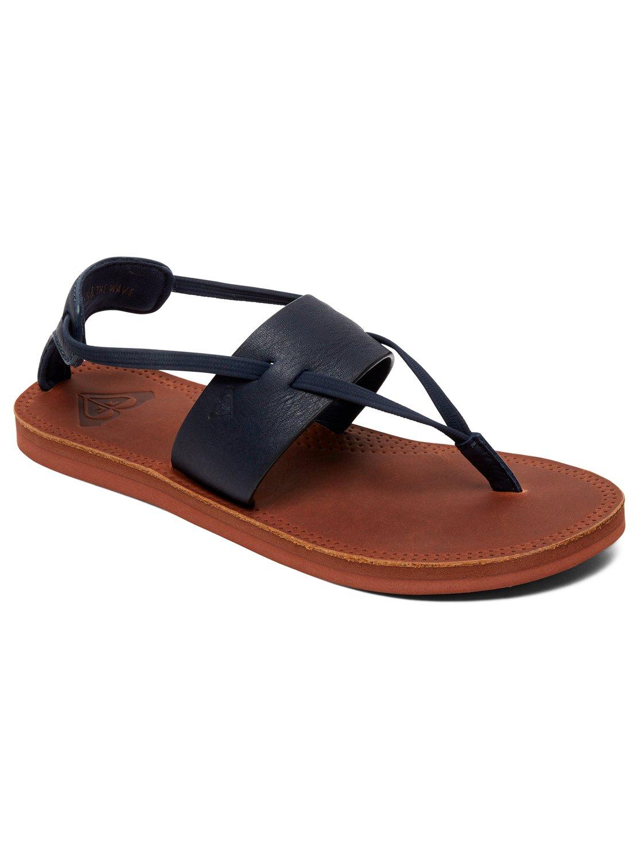 aba95329882b 0 Shawna - Leather Sandals for Women ARJL200691 Roxy