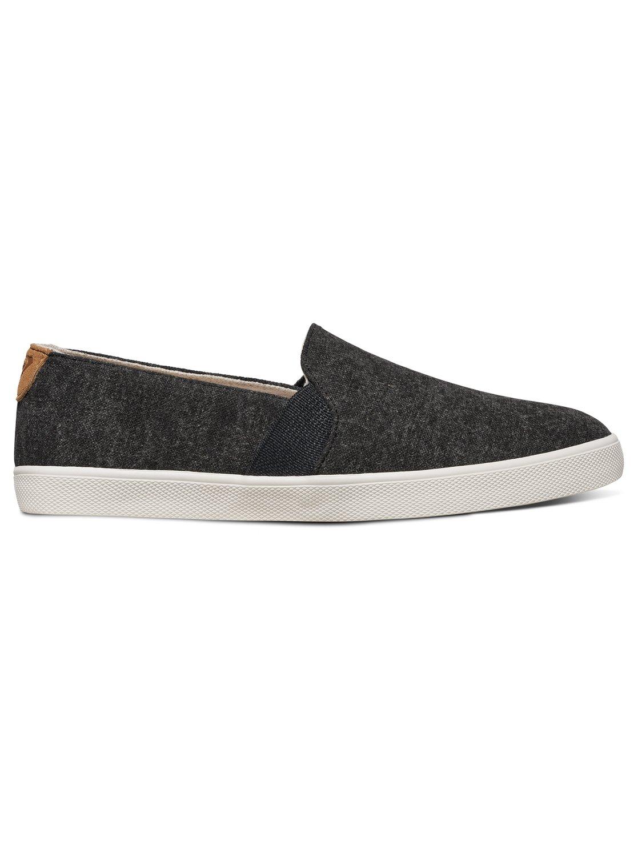 Roxy Atlanta - Slip-On Shoes - Zapatillas Sin Cordones - Mujer - EU 42 - Negro