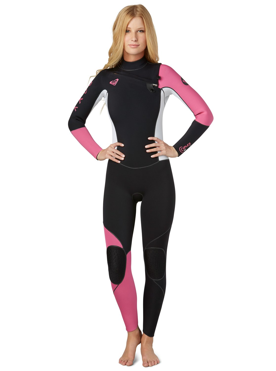 a4cce673cf 0 Cypher 4 3 Chest Zip Wetsuit ARJW100015 Roxy