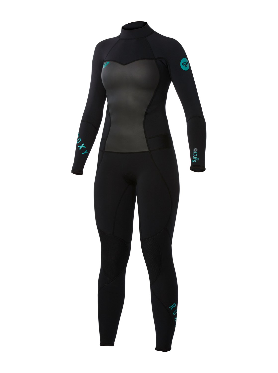0 Syncro 3 2mm Back Zip Wetsuit ARJW103004 Roxy 009fed536