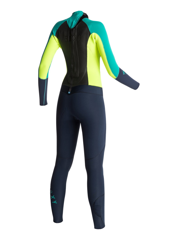 3 Syncro 3 2mm Back Zip Wetsuit ARJW103004 Roxy 5b83418b2
