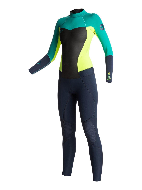 1 Syncro 3 2mm Back Zip Wetsuit ARJW103004 Roxy 324df2cd8
