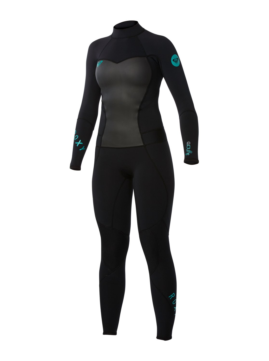 03b6bd1cad 0 Syncro 4 3mm Back Zip Wetsuit ARJW103008 Roxy