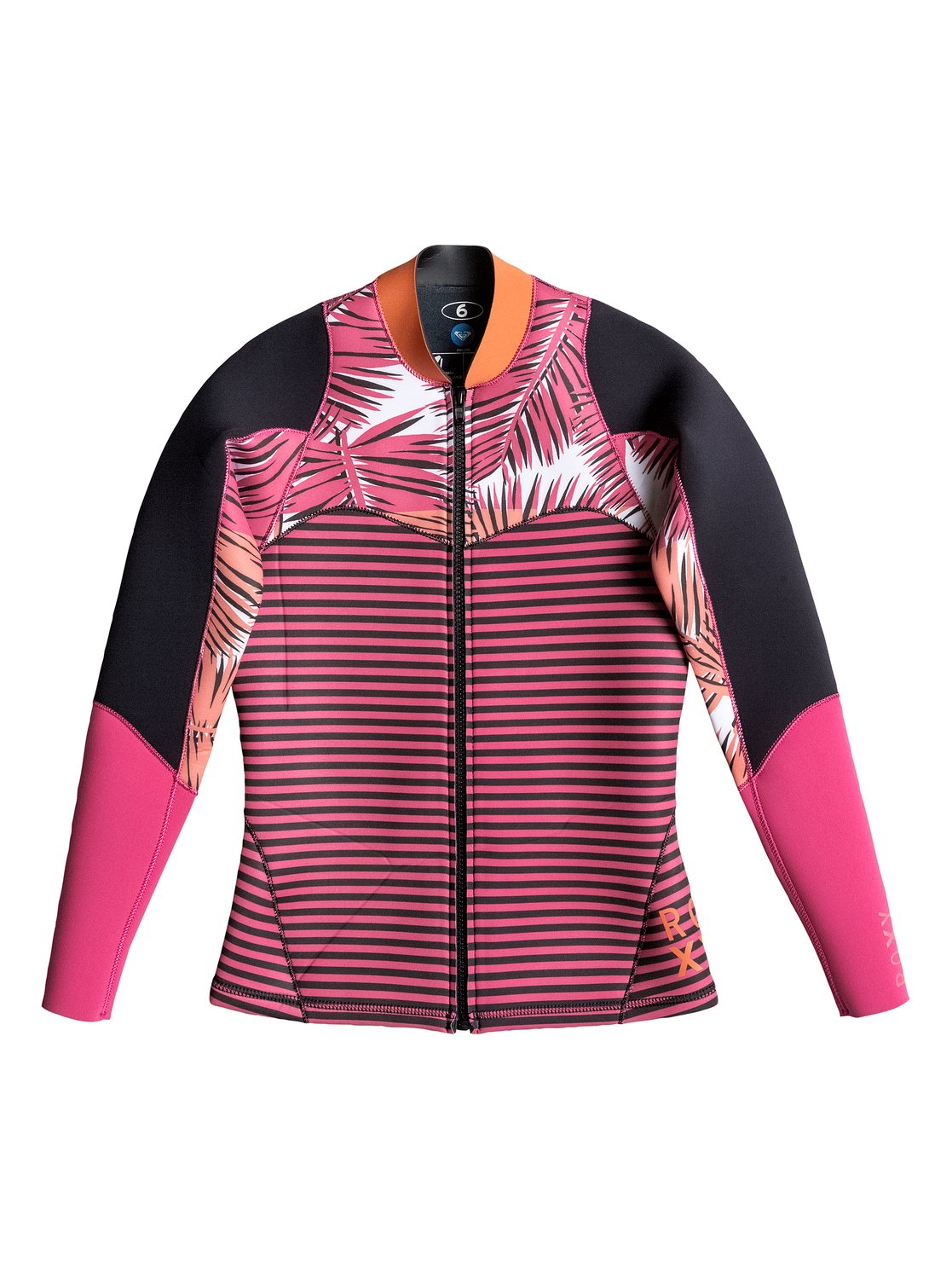 6be55e5bf6 0 Palm Forever Surf Jacket ARJW803016 Roxy