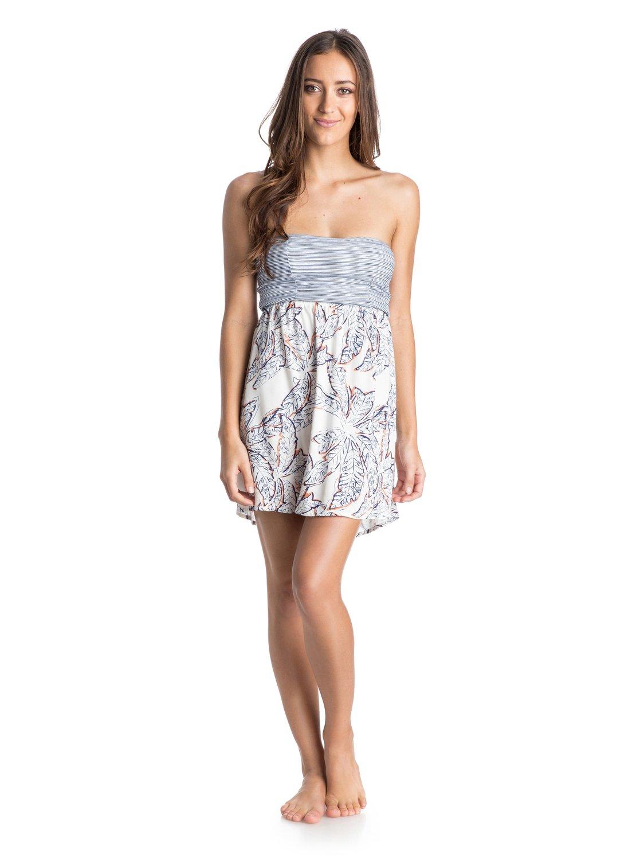 0 Savage Strapless Dress Arjwd03029 Roxy