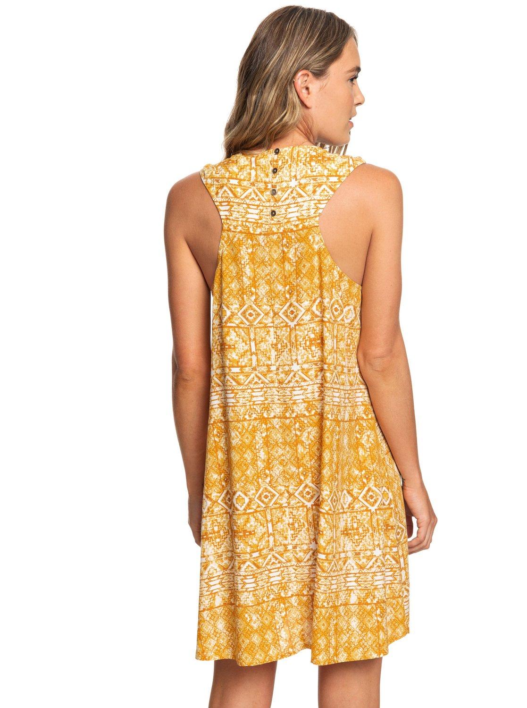 4 Harlem Vibes Short Length Sleeveless Dress Orange ARJWD03235 Roxy 2360a343993