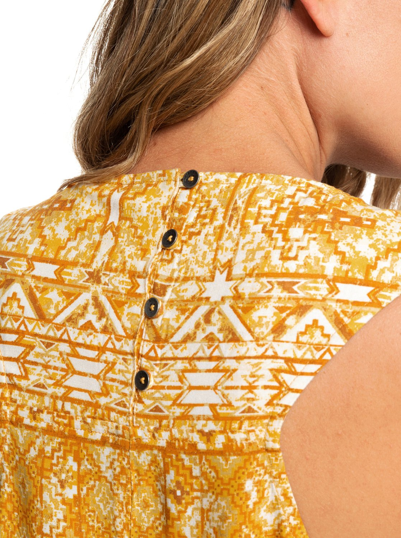 2 Harlem Vibes Short Length Sleeveless Dress Orange ARJWD03235 Roxy e4c40c48e45