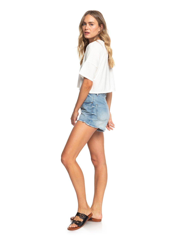 Arjzt05201 Afternoon für Roxy Shirt T Boyfriend Kurzes ™ Sun Damen Hq5xqzwU