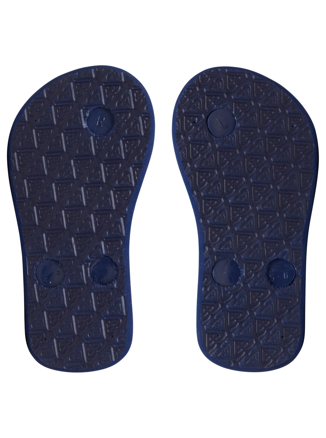 377fab00f 3 Bamboo - Flip-Flops for Toddlers Blue AROL100002 Roxy