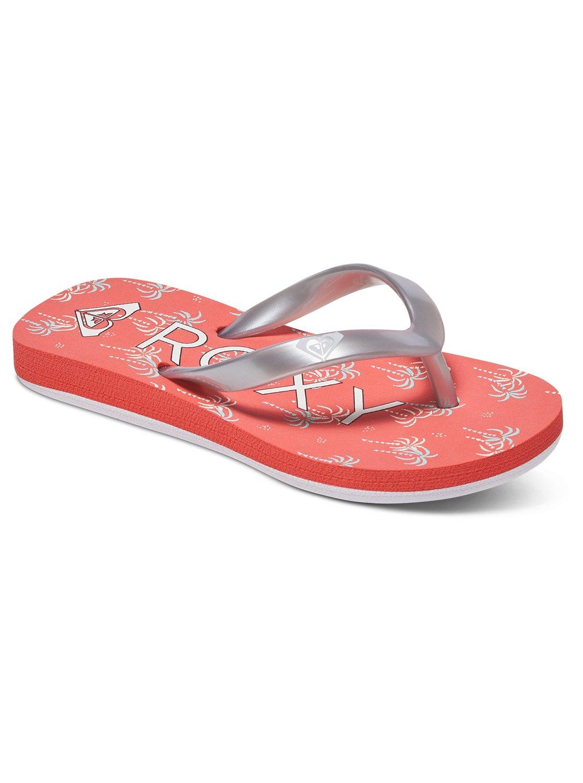 3d2220eb5 0 Bamboo - Flip-Flops for Toddlers Orange AROL100002 Roxy