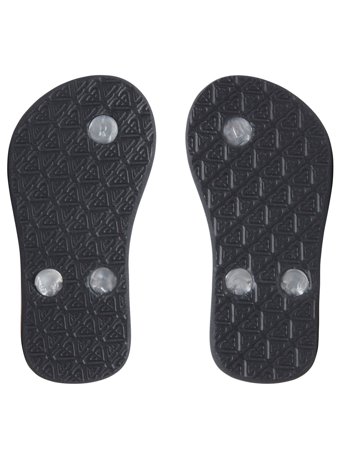 7deaccc62 3 Bamboo - Flip-Flops for Toddlers Gray AROL100002 Roxy