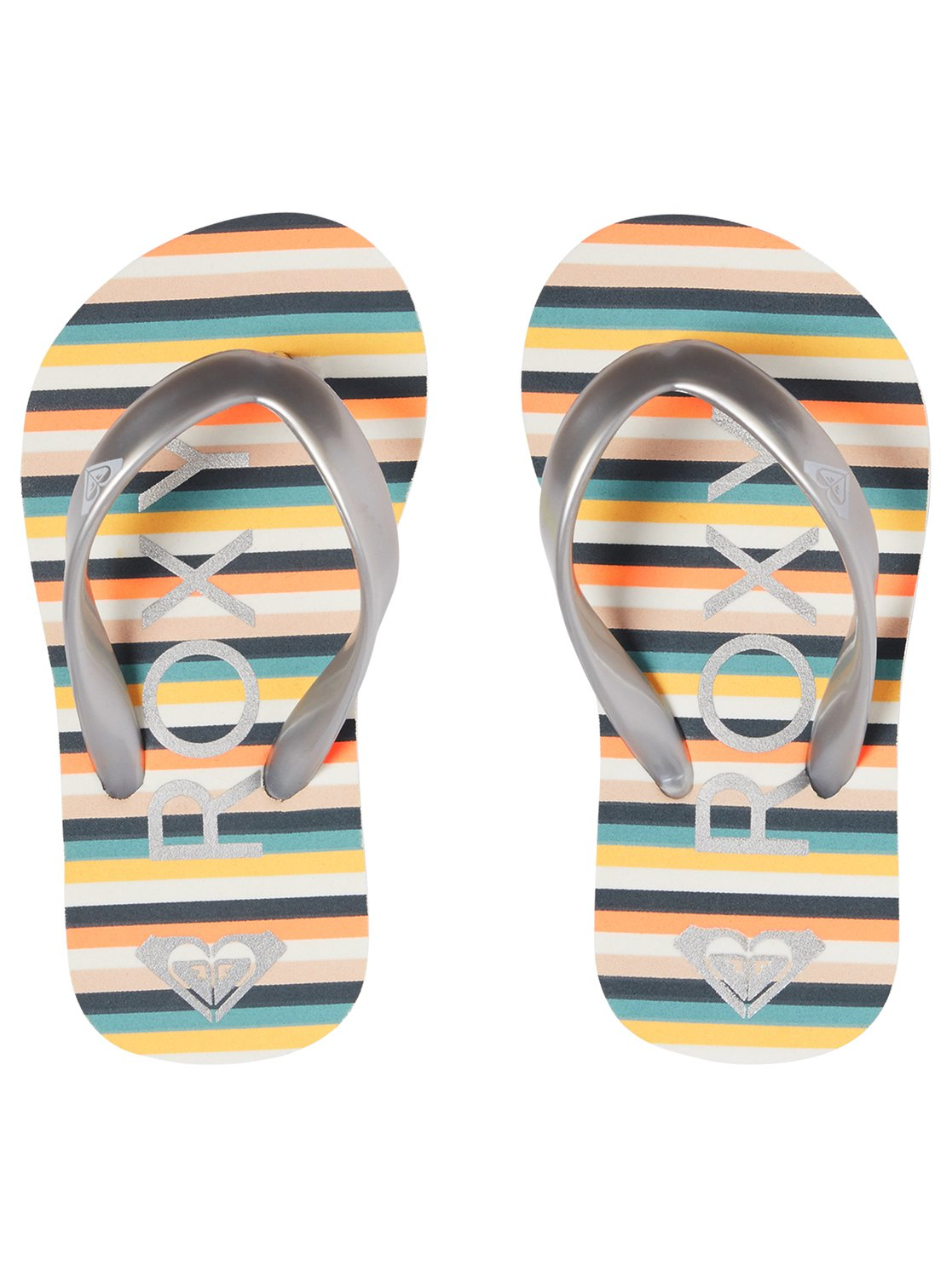 b5fe1f798 2 Bamboo - Flip-Flops for Toddlers Gray AROL100002 Roxy