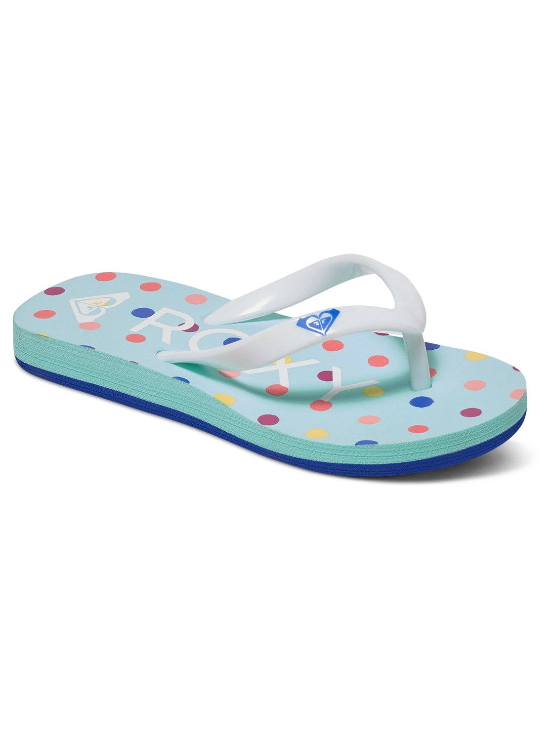 dc5b0f9d7 0 Bamboo - Flip-Flops for Toddlers Blue AROL100002 Roxy