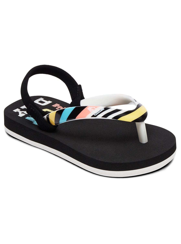 de98d2c66 0 Girl s 2-6 Pebbles Sandals Black AROL100004 Roxy. Aero Surf Club Sunset  Flip-Flop (84 MXN) ❤ liked on Polyvore featuring shoes ...