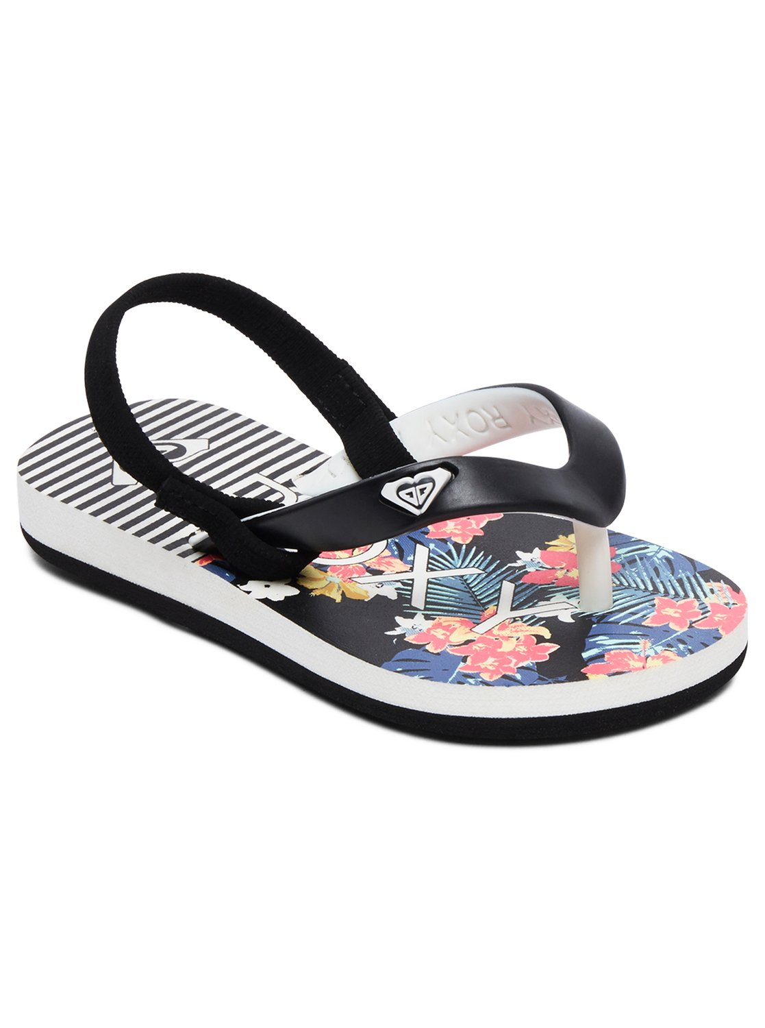 66dfbbbed385 0 Girl s 2-6 Tahiti Sandals Black AROL100005 Roxy