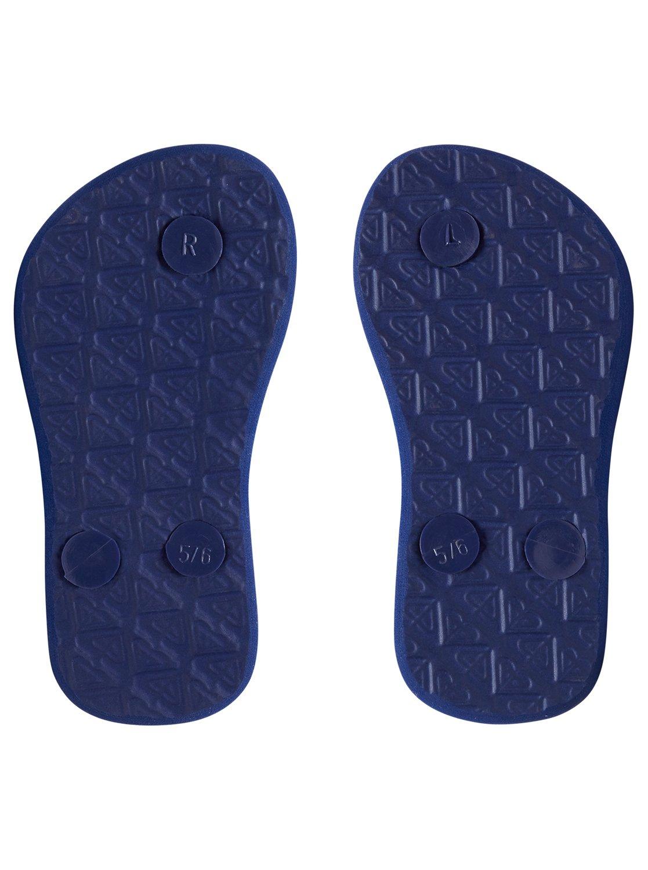 c90f563b15282 3 Viva Glitter - Flip-Flops for Toddlers Green AROL100007 Roxy