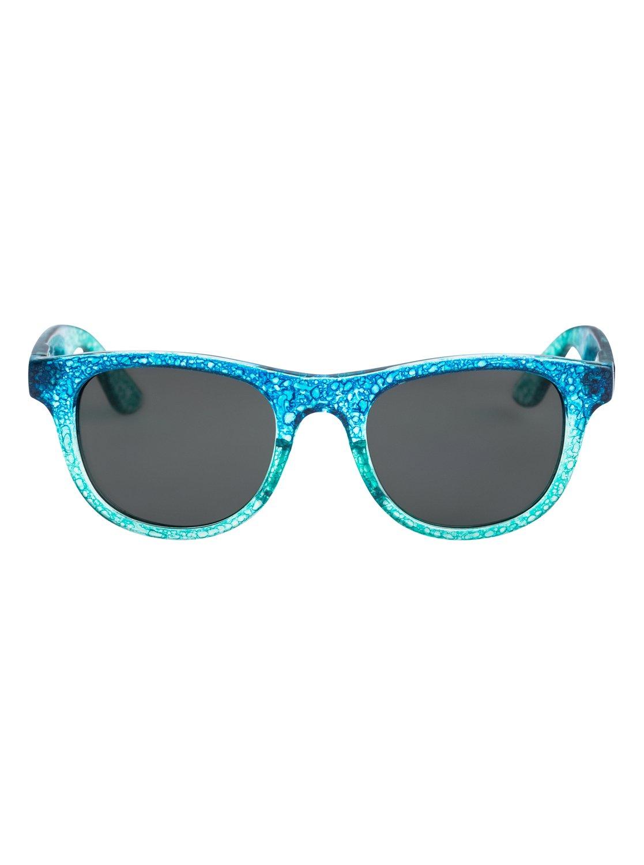 1 Little Blondie - Gafas de Sol para Chicas 8-16 Azul ERG6011 Roxy 19ed3b1ee5c1