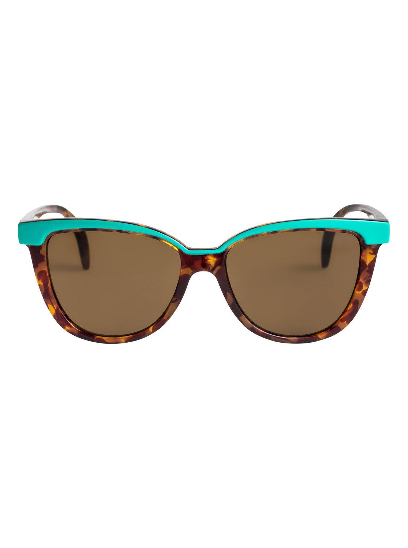 1 Coco - Gafas de Sol para Chicas 8-16 Verde ERG6016 Roxy 954f14c3a3f5