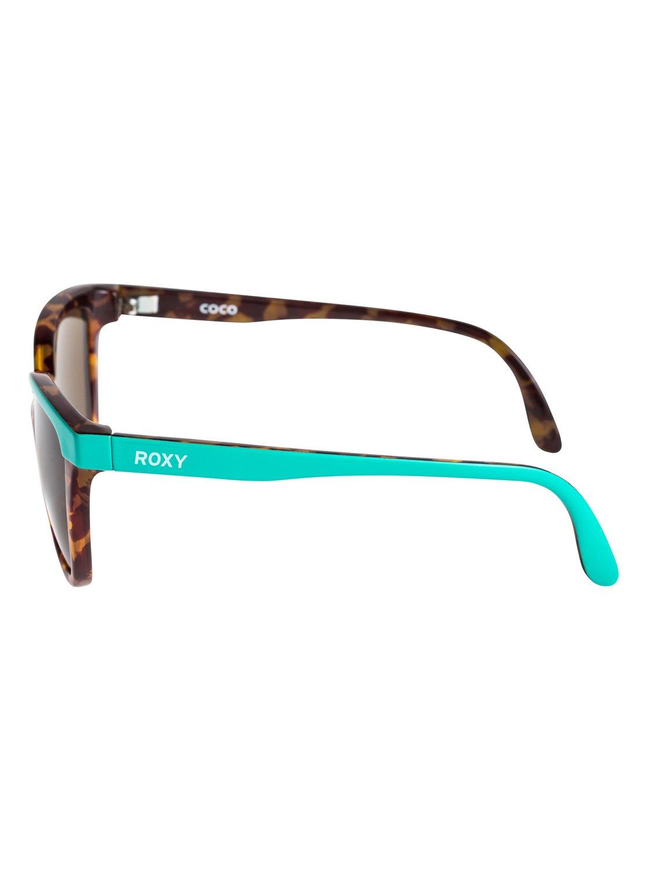 2 Coco - Gafas de Sol para Chicas 8-16 Verde ERG6016 Roxy ed0ed1a5a9f2