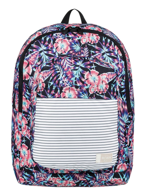 0 Girl s 7-14 California Medium Backpack ERGBP03027 Roxy 73b9d3024d370