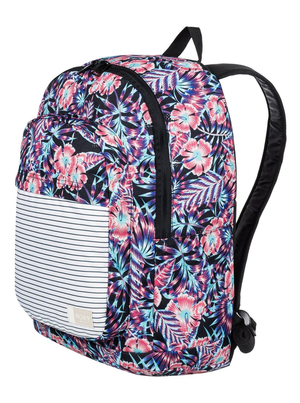 1 Girl s 7-14 California Medium Backpack ERGBP03027 Roxy 458e9d73bfd01