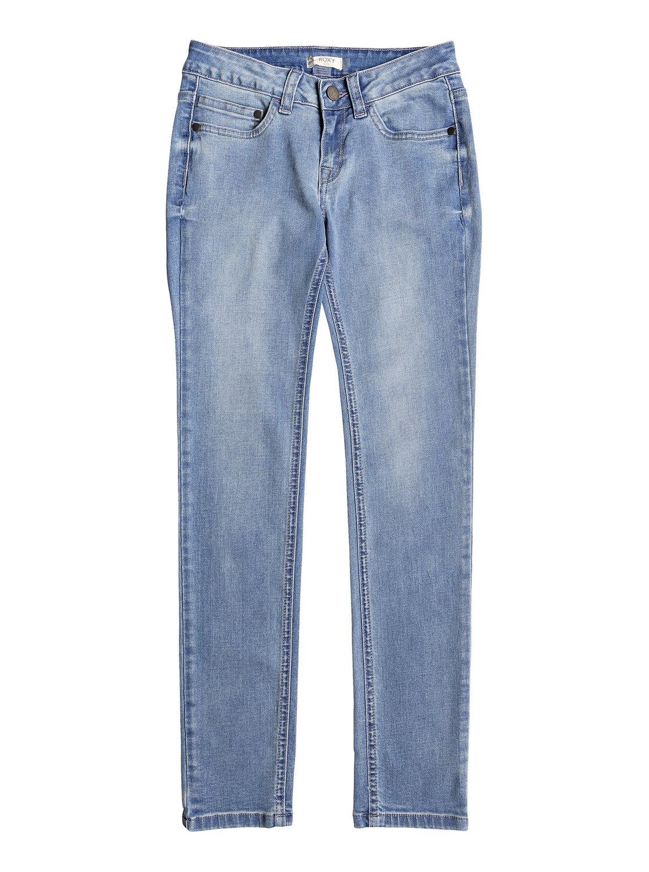 0 Детские узкие джинсы La Luna Llena Синий ERGDP03048 Roxy abbf1eb77522e