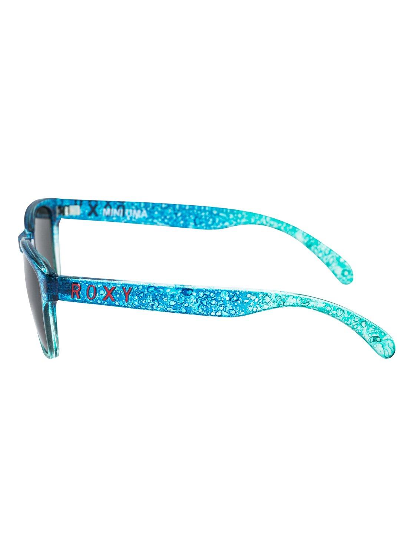 433192e0e4bf93 2 Mini Uma - Lunettes de soleil pour Fille 8-16 ans Bleu ERGEY03000 Roxy