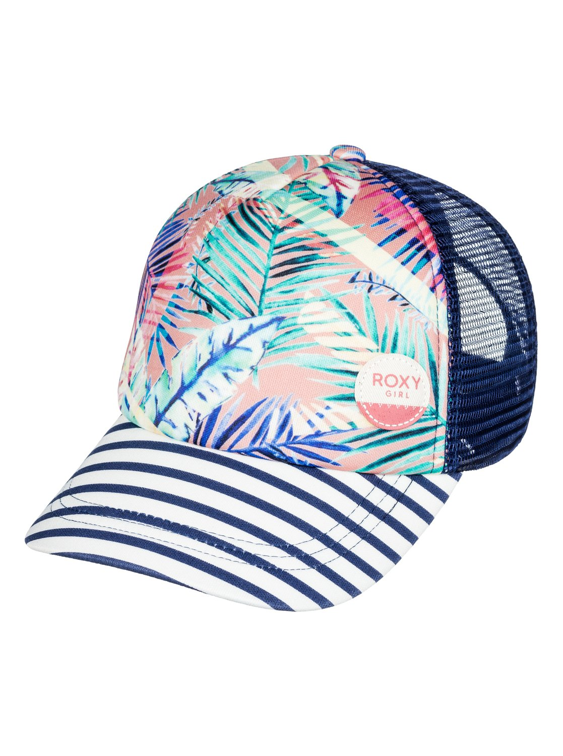 40af19b881e 0 Girls 7-14 Just Ok Trucker Hat ERGHA03030 Roxy
