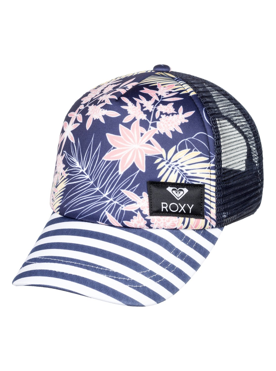 eadb6cb7c03 0 Girl s 7-14 Just Ok Trucker Hat Blue ERGHA03130 Roxy