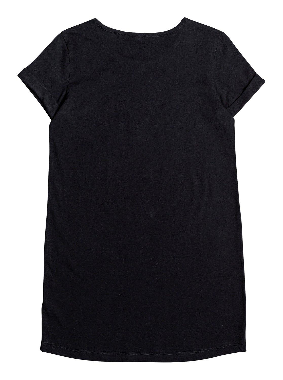 Ergkd03087 Roxy shirt B MouwenJurk T Girl's 7 14 Met Korte Sky Kleuren bf7yvgY6