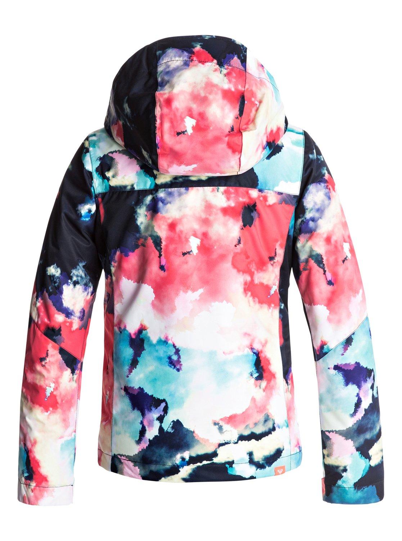1384a8a329 1 ROXY Jetty - Snow Jacket for Girls 8-16 Orange ERGTJ03033 Roxy