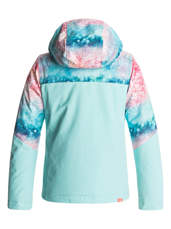 89d6fa95a6 1 Girl s 7-14 ROXY Jetty Snow Jacket ERGTJ03041 Roxy