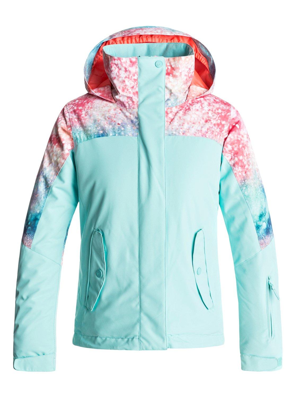 cbe88395a5 0 Girl s 7-14 ROXY Jetty Snow Jacket ERGTJ03041 Roxy