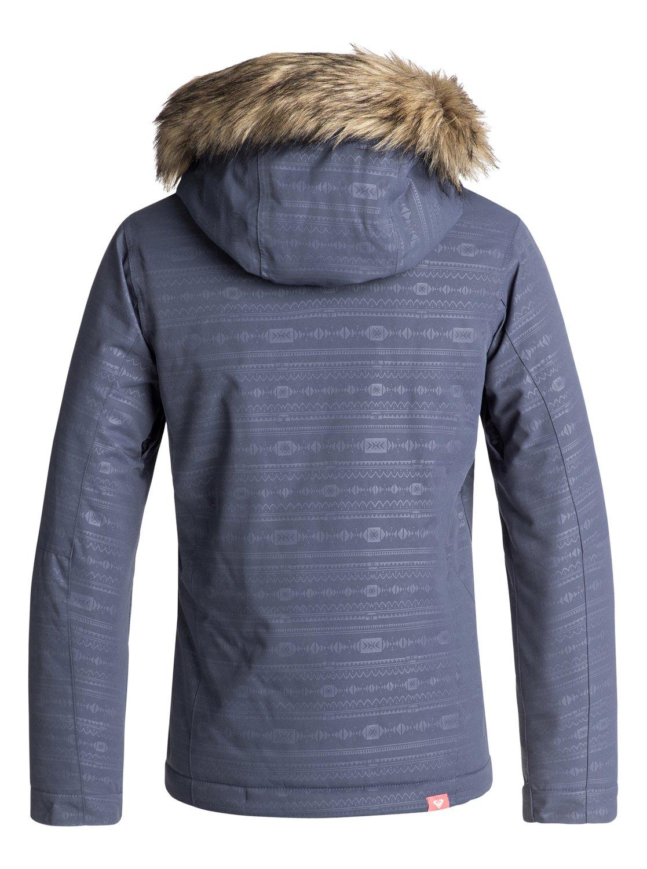 94a6b53e6b36 Jet Ski Embossed - Snow Jacket for Girls 8-16 ERGTJ03056