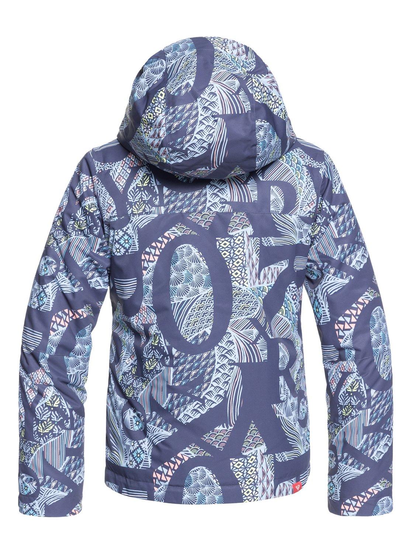 a2e86f47b8 1 Girl s 7-14 ROXY Jetty Snow Jacket Blue ERGTJ03058 Roxy
