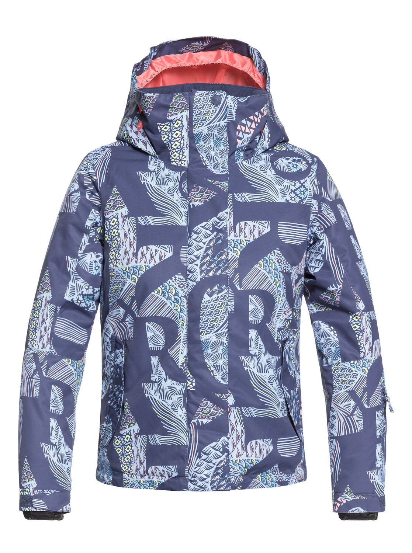 11f90f1ad5 0 Girl s 7-14 ROXY Jetty Snow Jacket Blue ERGTJ03058 Roxy
